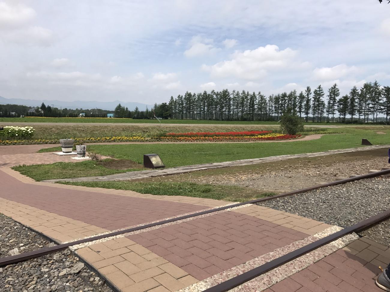 幸福駅(北海道)の景色
