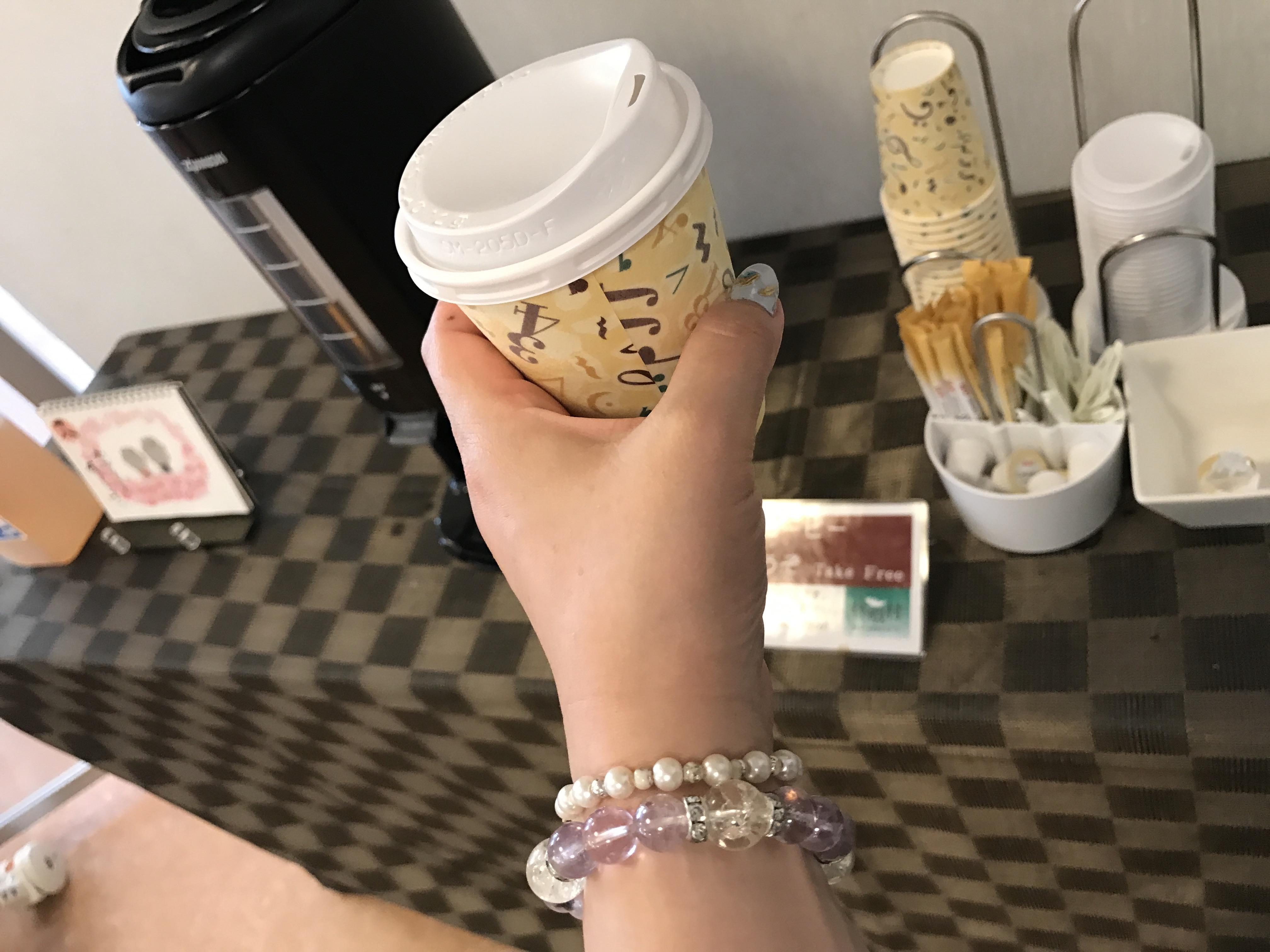 休暇村陸中宮古朝食バイキングのコーヒー