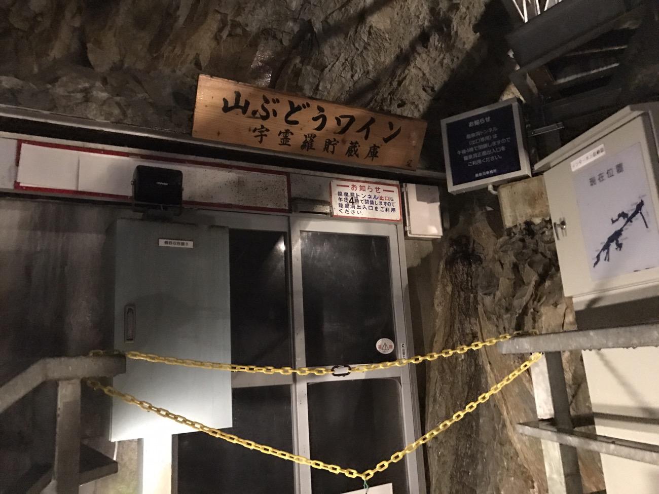 岩泉観光 龍泉洞 ワイン冷蔵