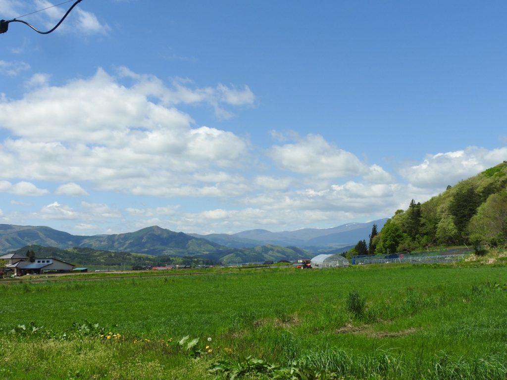 岩手旅行 遠野の美しい景色
