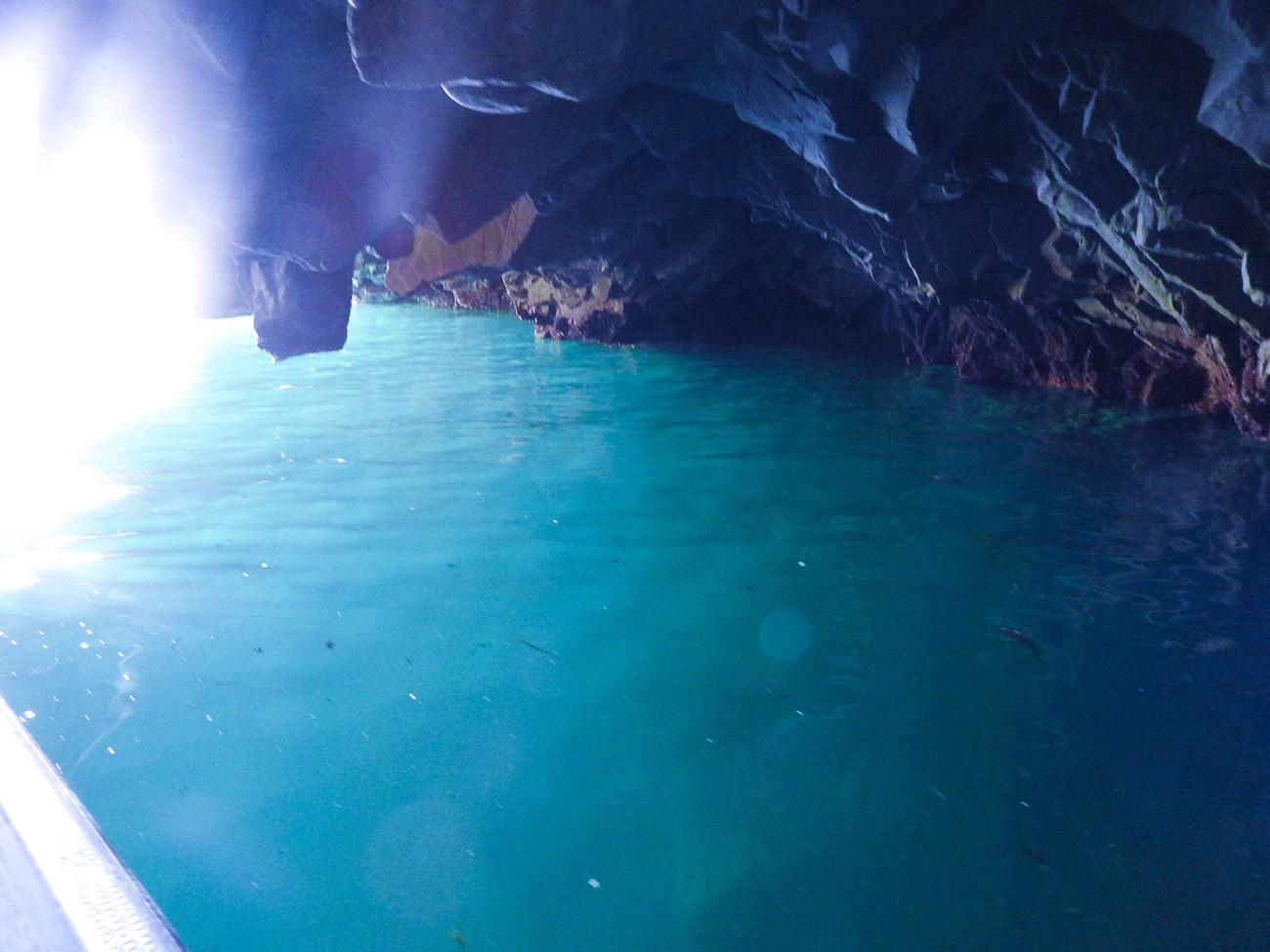 岩手旅行 宮古浄土ヶ浜青の洞窟