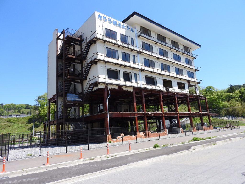 震災遺構たろう観光ホテル