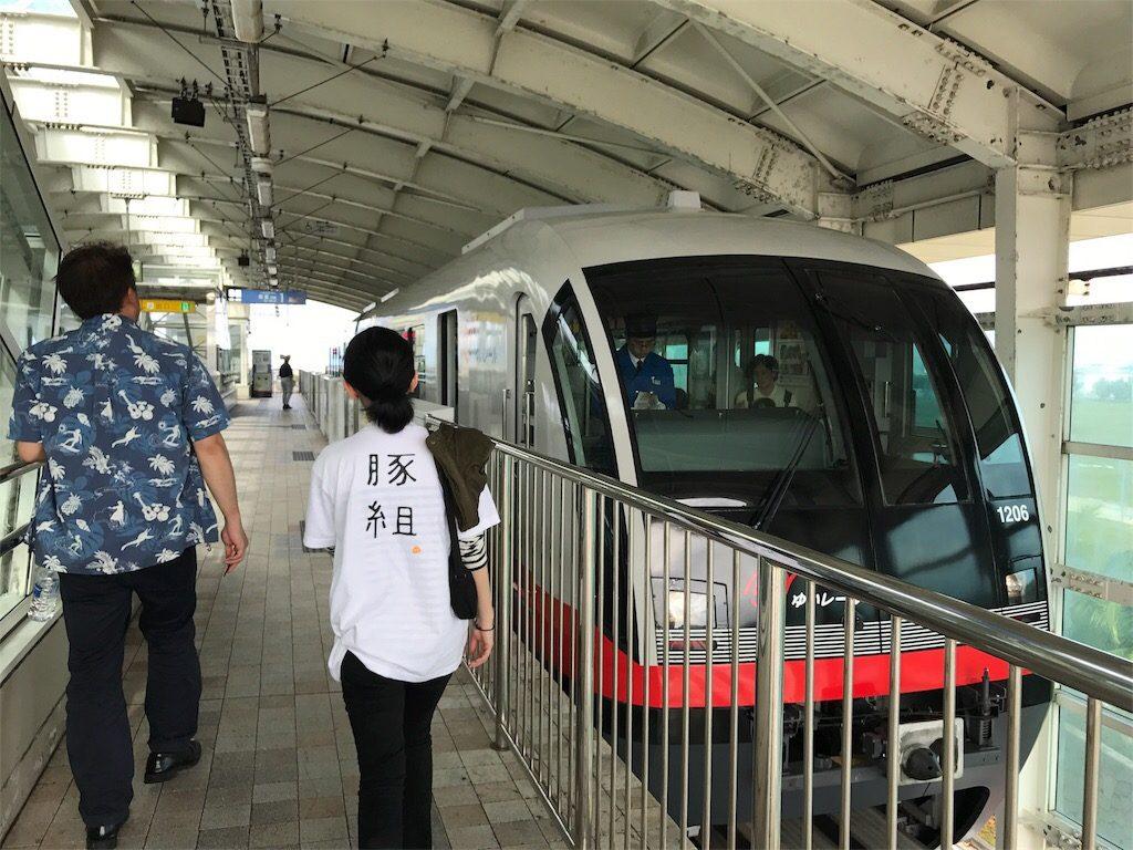 沖縄旅行の交通機関ゆいレール