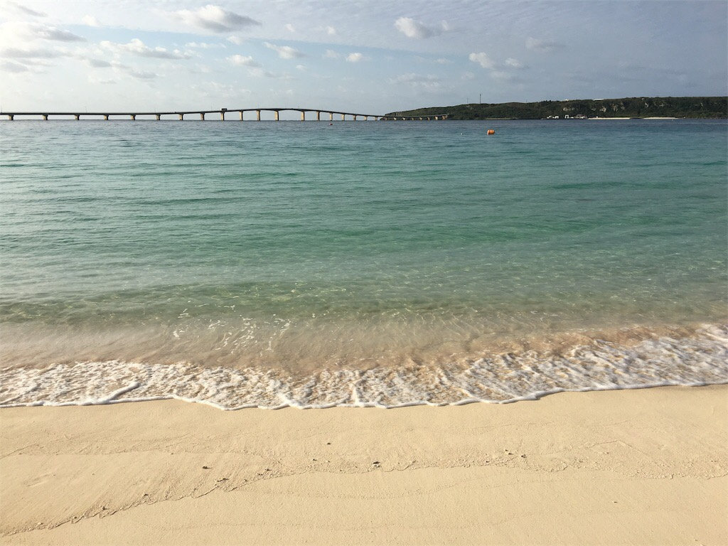 宮古島観光 来間前浜ビーチ