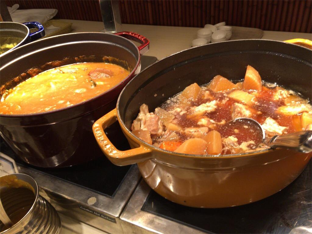 宮古島 島野菜のカレー 宮古島ブリーズベイマリーナ朝食ビュッフェ