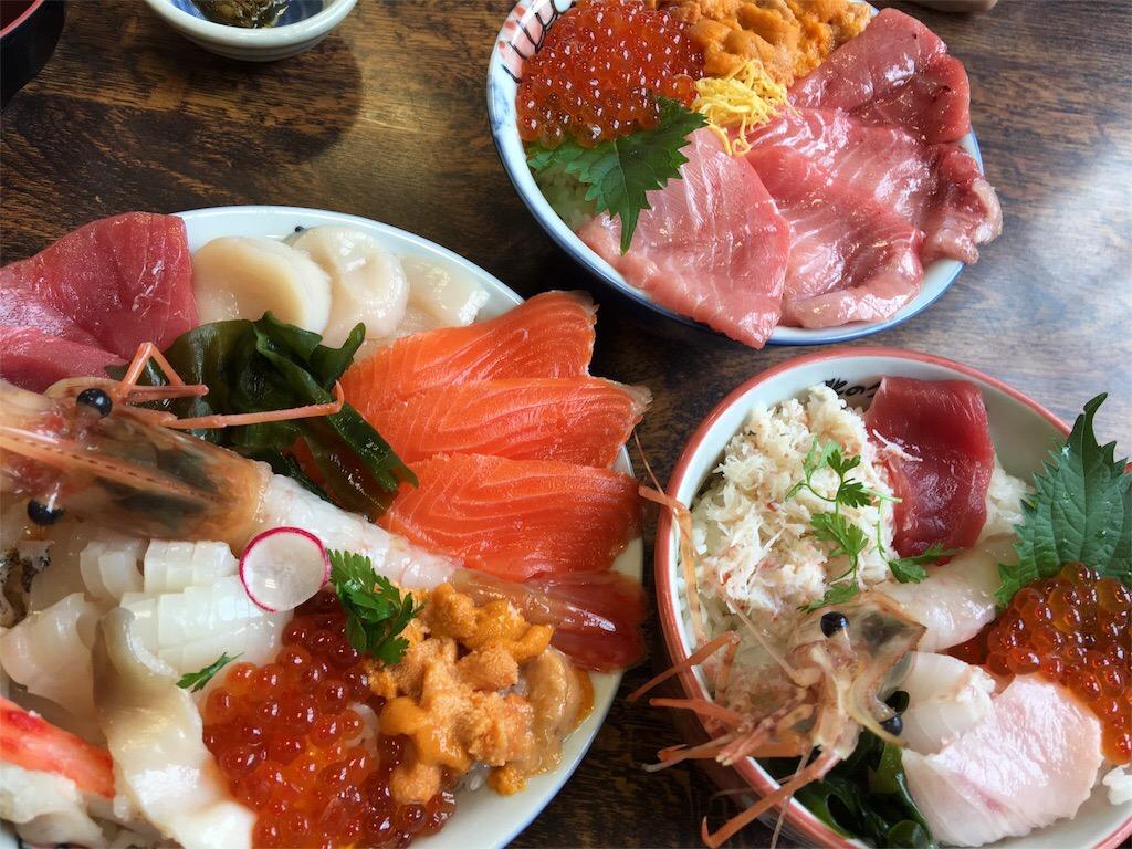 札幌場外市場おすすめ海鮮丼の店北のグルメ