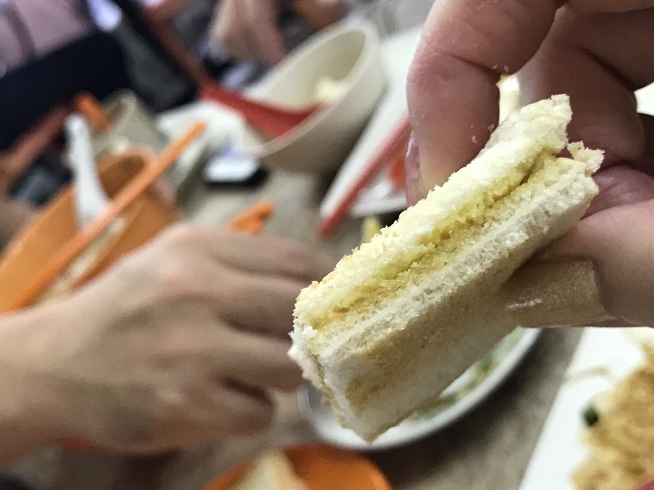 クアラルンプールグルメ朝食 カヤトースト
