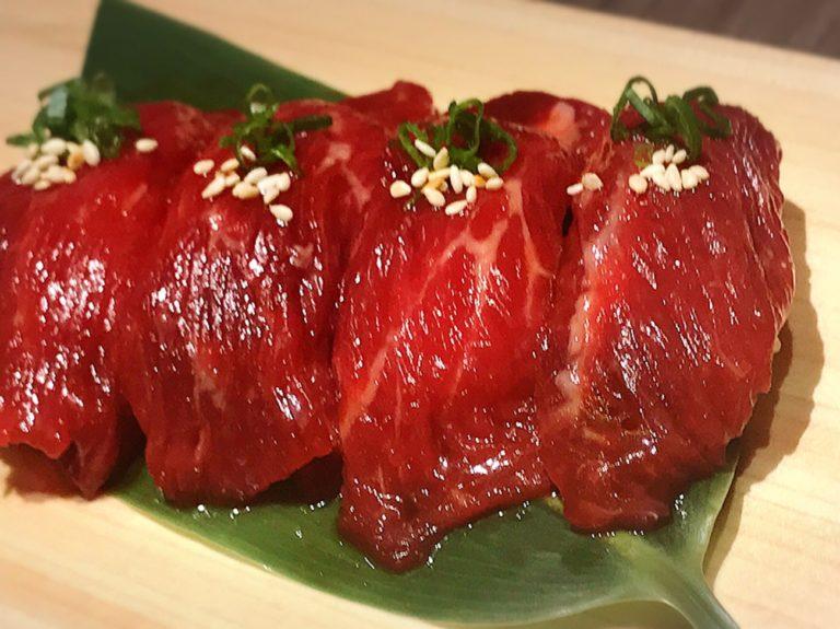 肉寿司 マレーシアクアラルンプールグルメ新日本焼肉党