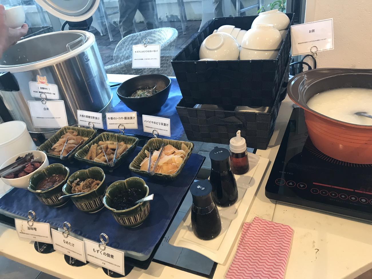 沖縄料理朝食バイキング ホテルイーストチャイナシー