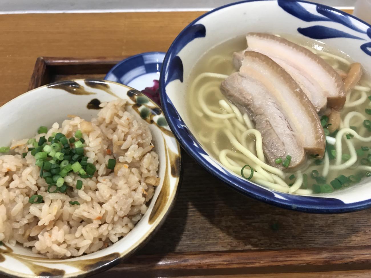 石垣空港ゆうなパーラー食堂 八重山そば沖縄料理