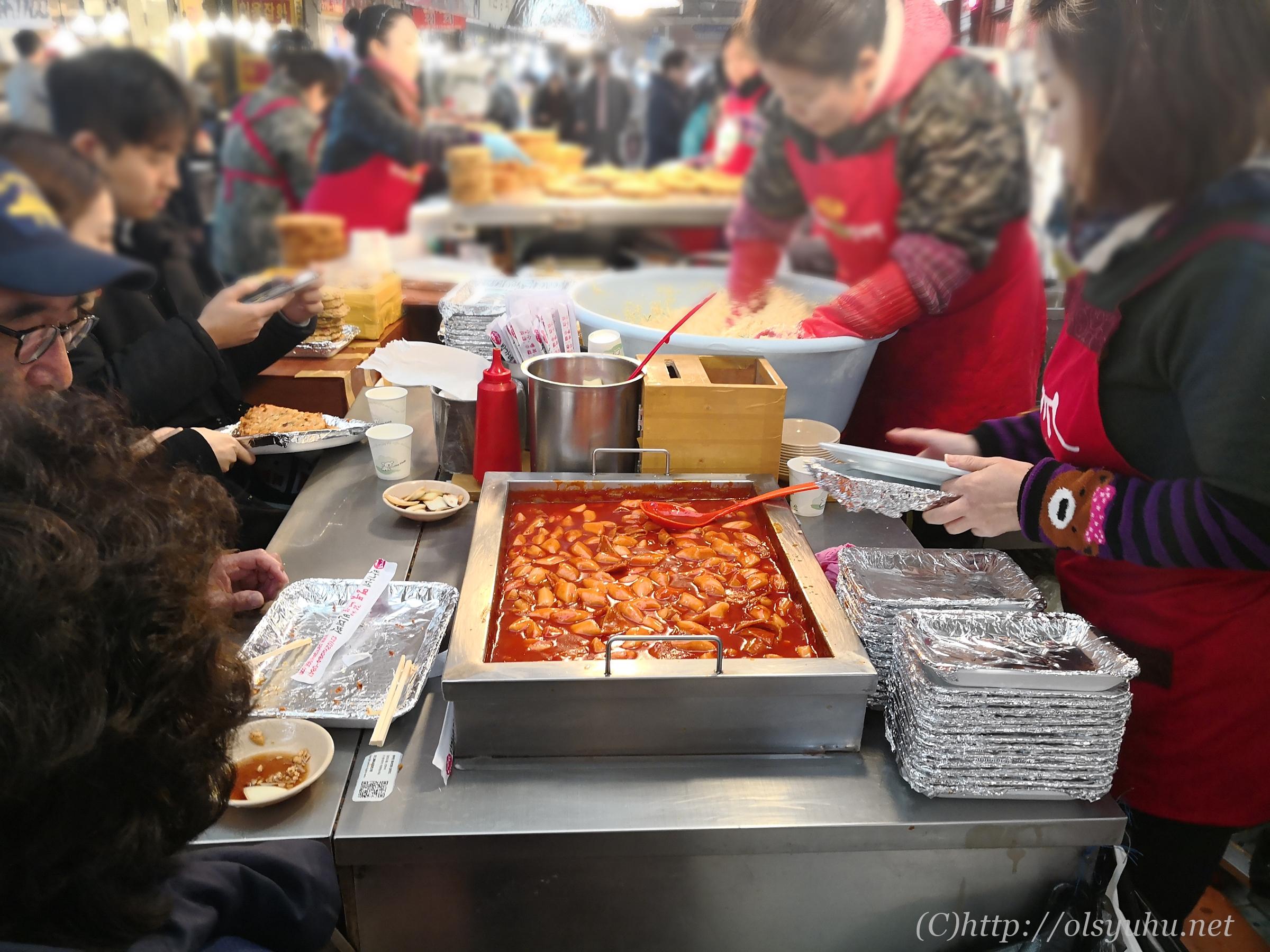 韓国旅行おすすめ広蔵市場