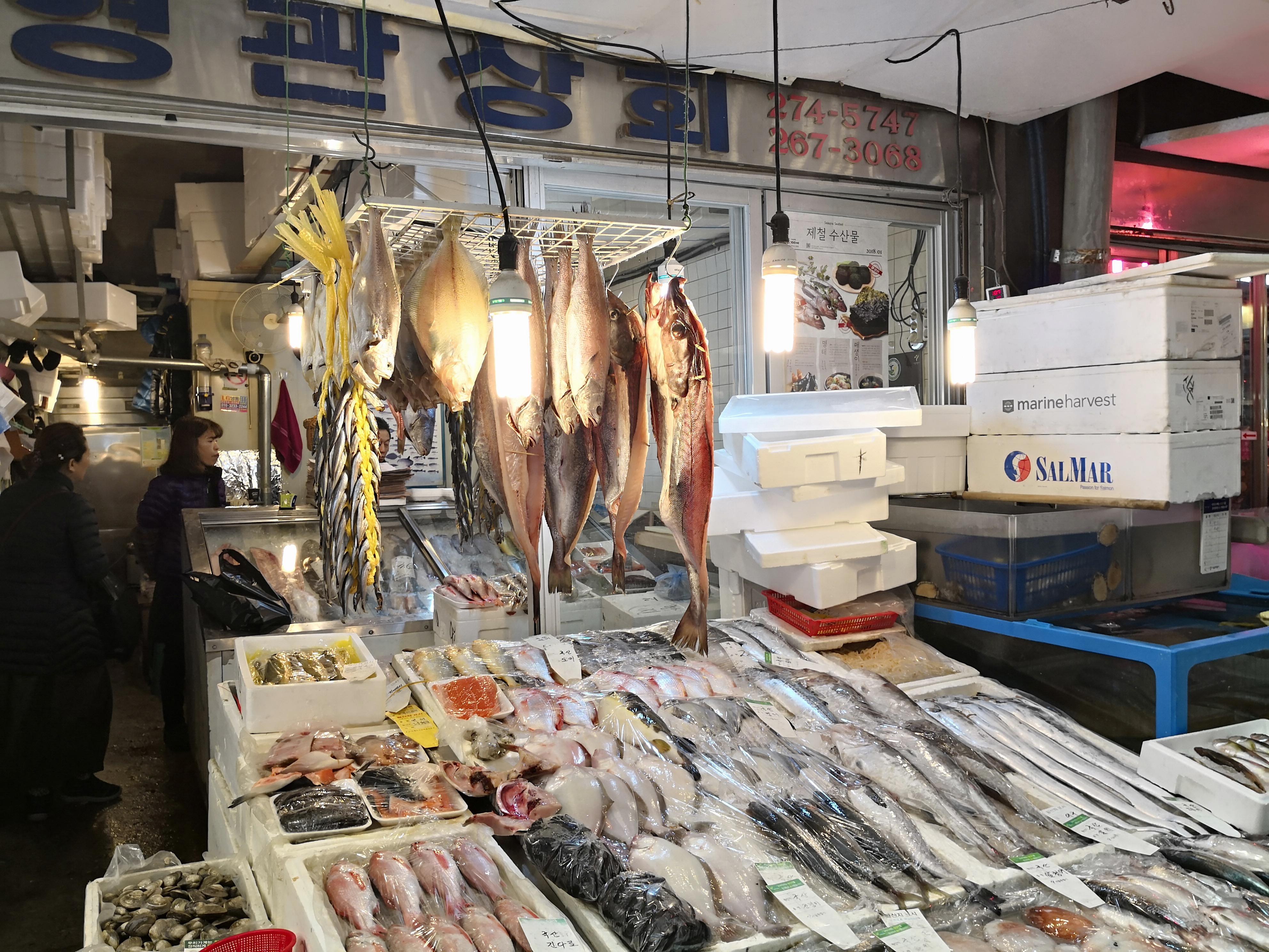 広蔵市場魚や 韓国グルメ