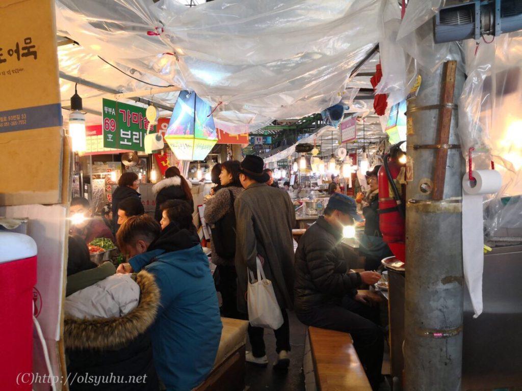韓国観光おすすめのグルメ 広蔵市場