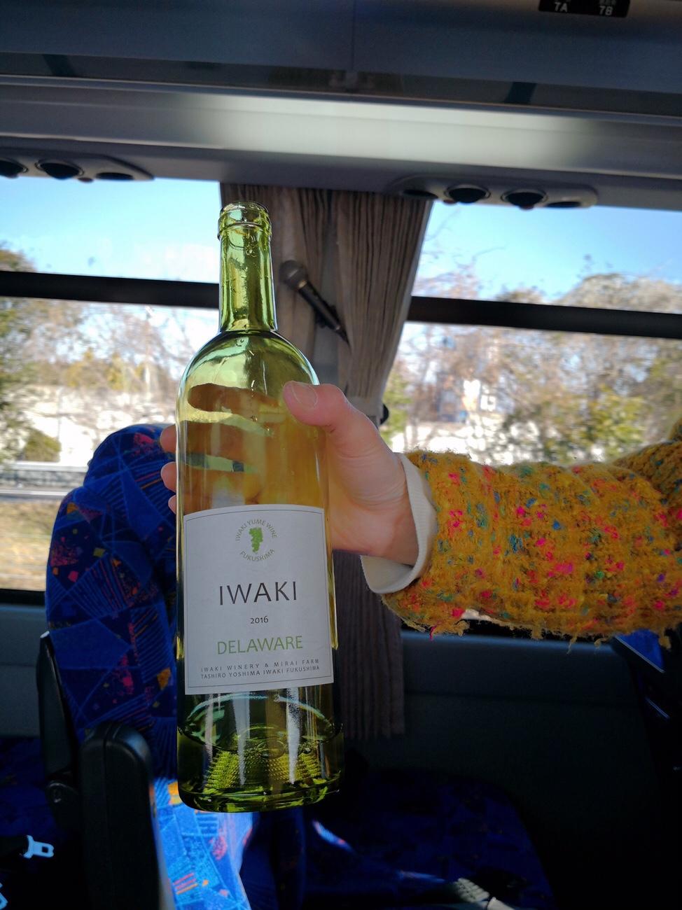 いわきワイナリーのワイン