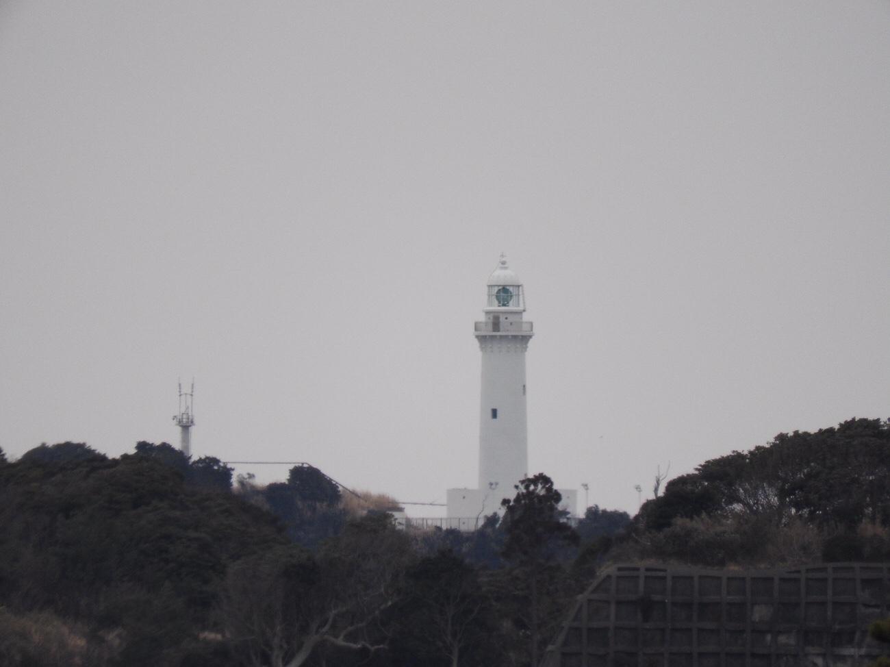 新舞子ハイツからみえた塩谷埼灯台