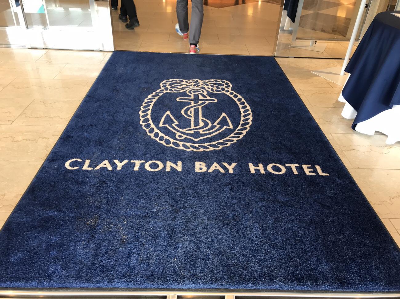 クレイトンベイホテル呉 入り口