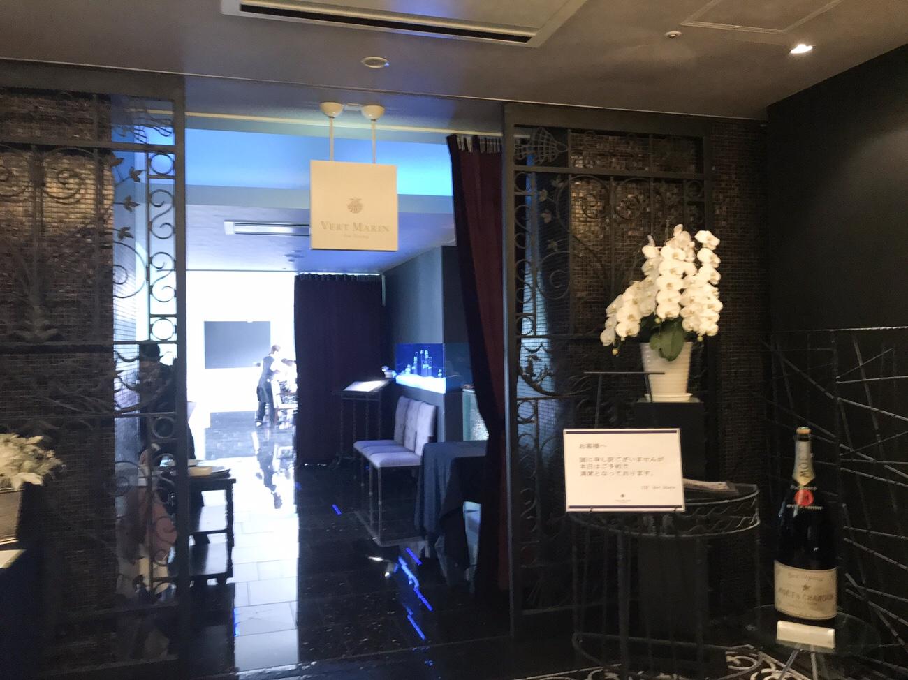 クレイトンベイホテルレストラン11階入り口