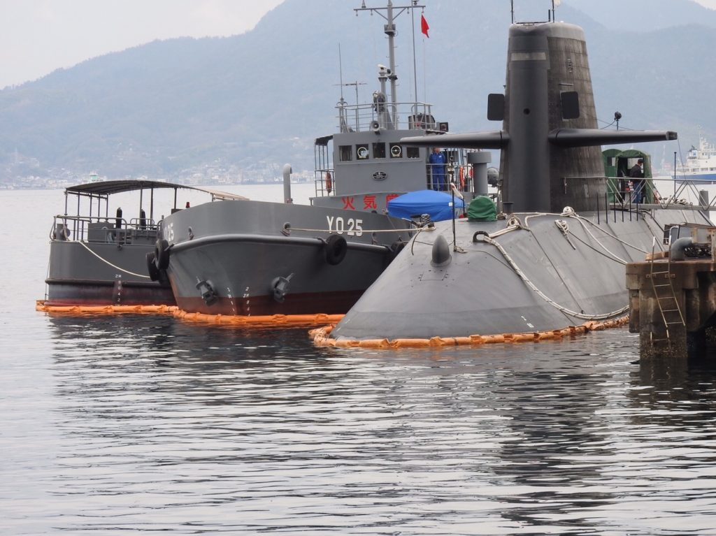 潜水艦を間近で観られる呉