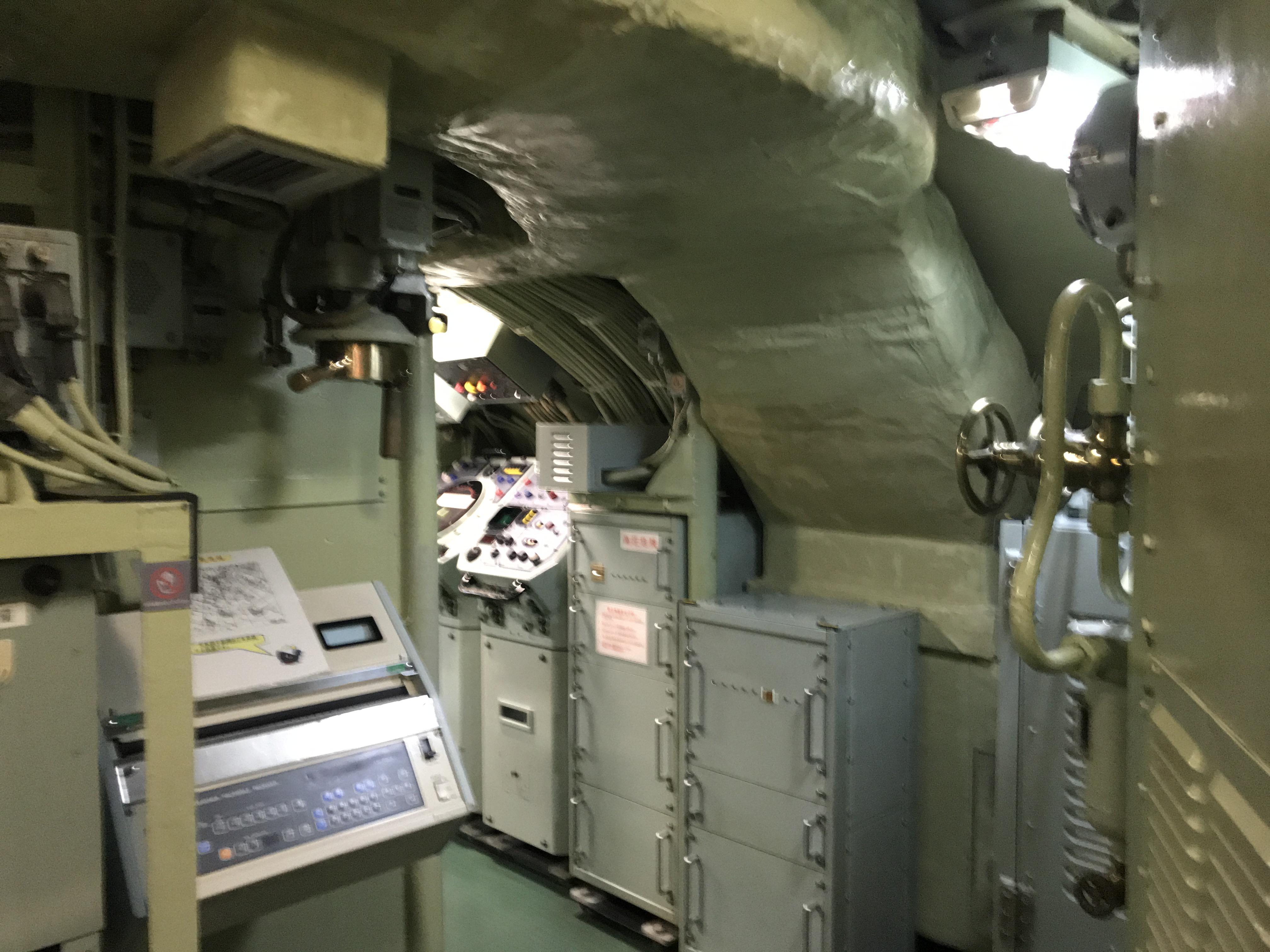 本当の潜水艦内部 鉄のくじら館 呉観光