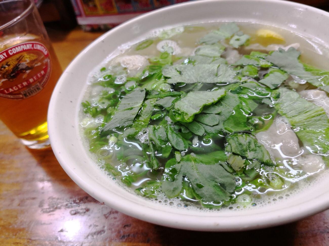 広島たかまのホルモン汁でんがく汁広島グルメ