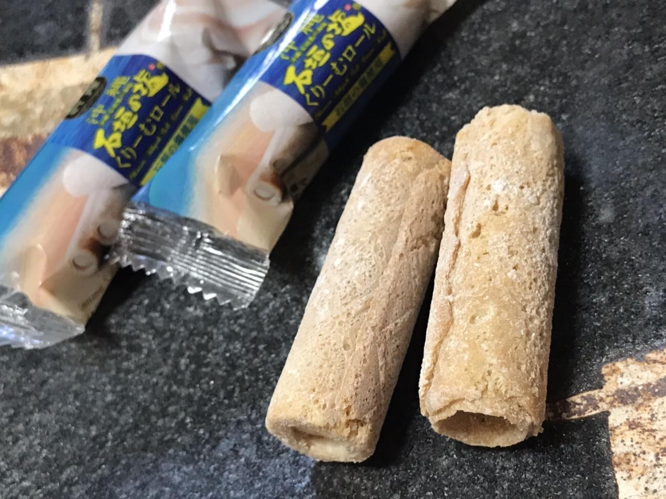 石垣島土産 石垣の塩くりーむロール