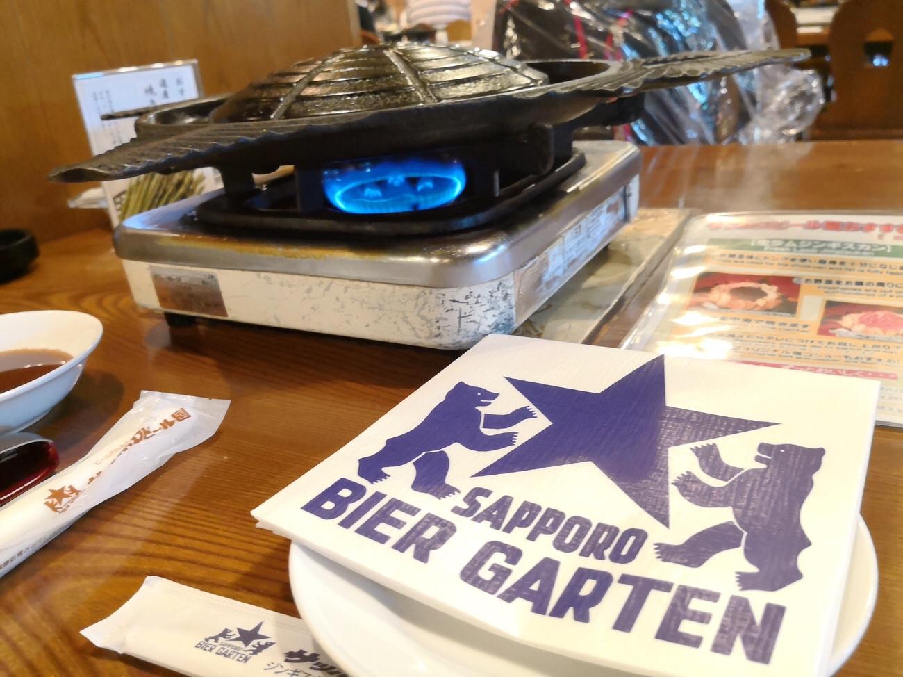 札幌ランチ ジンギスカン食べ放題 サッポロビール園