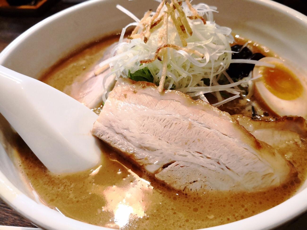 みそラーメン すすきの 麺屋雪風 チャーシューみそラーメン