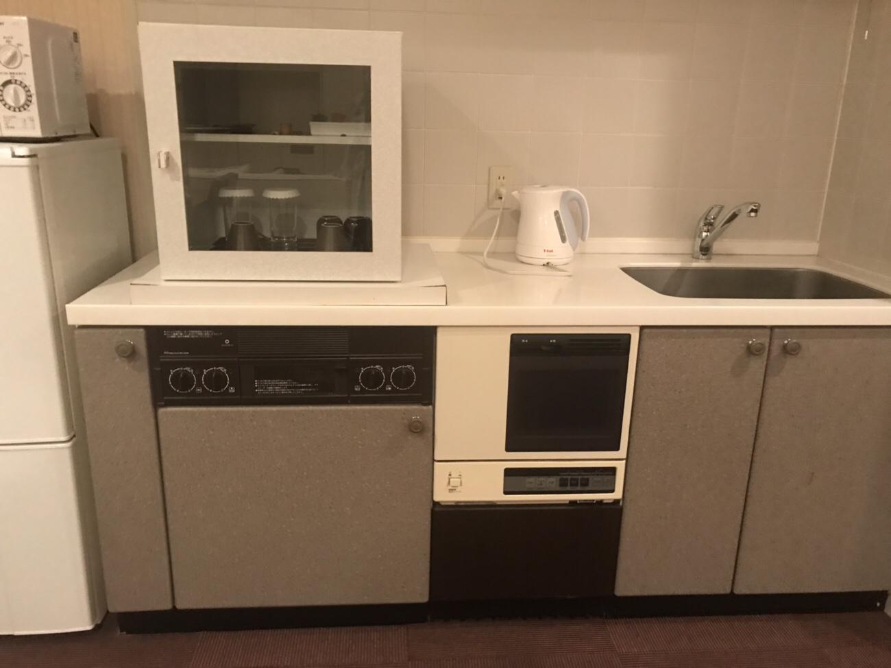 大阪キッチン付きのホテル ライブアーテックス泊まった感想