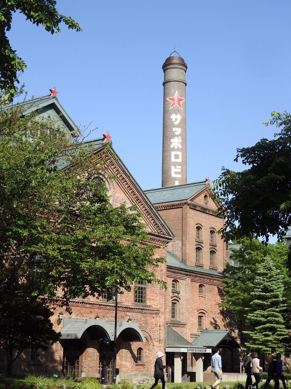 赤レンガ造りがかっこいいサッポロビール園