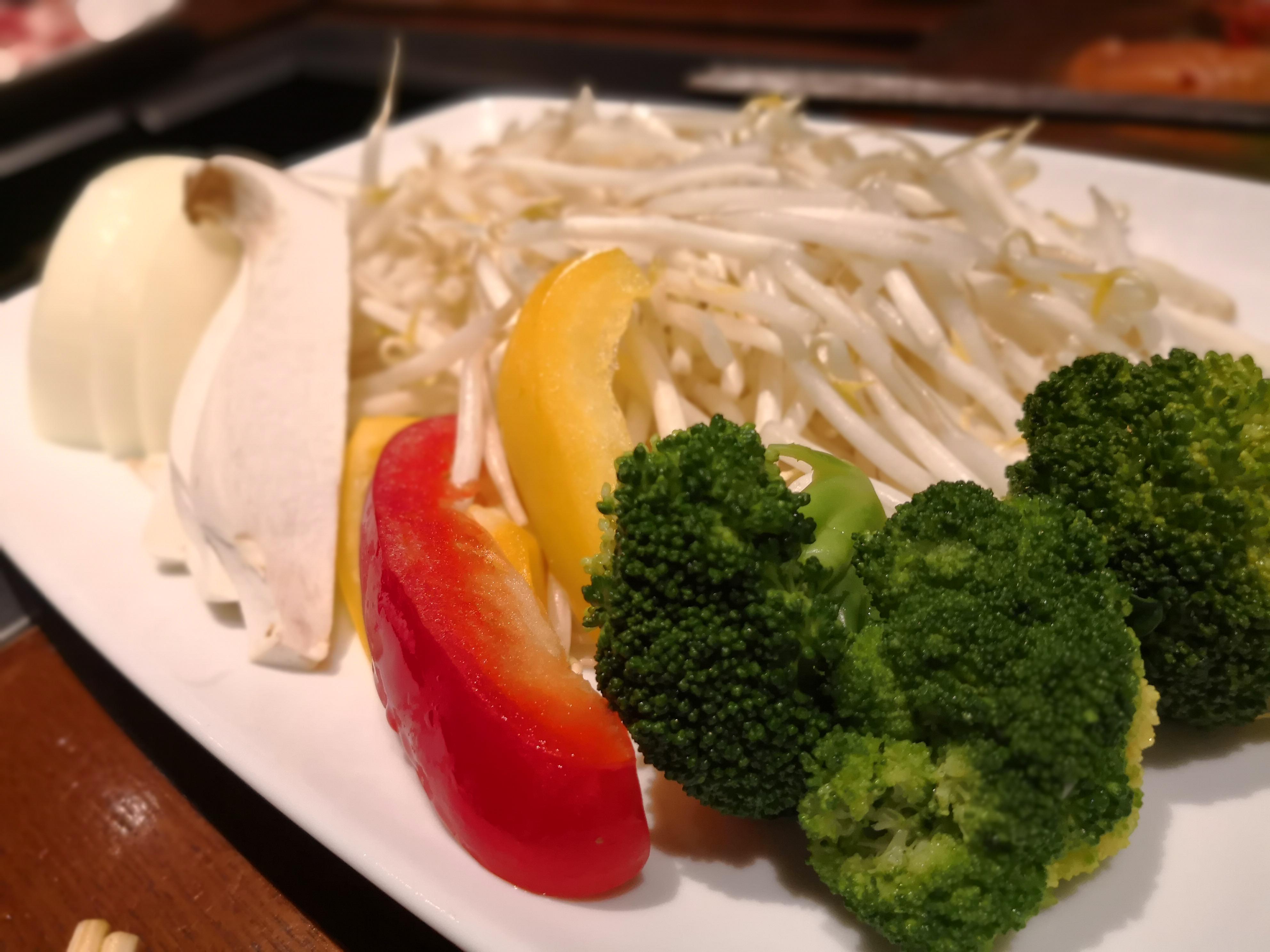 ガーデングリル個室予約メニュー 焼野菜