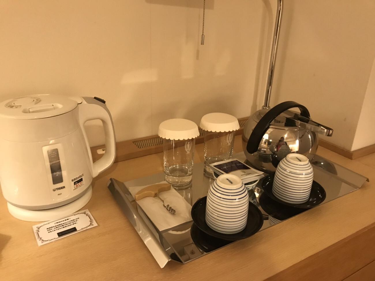 ホテルクラビーサッポロ部屋の設備