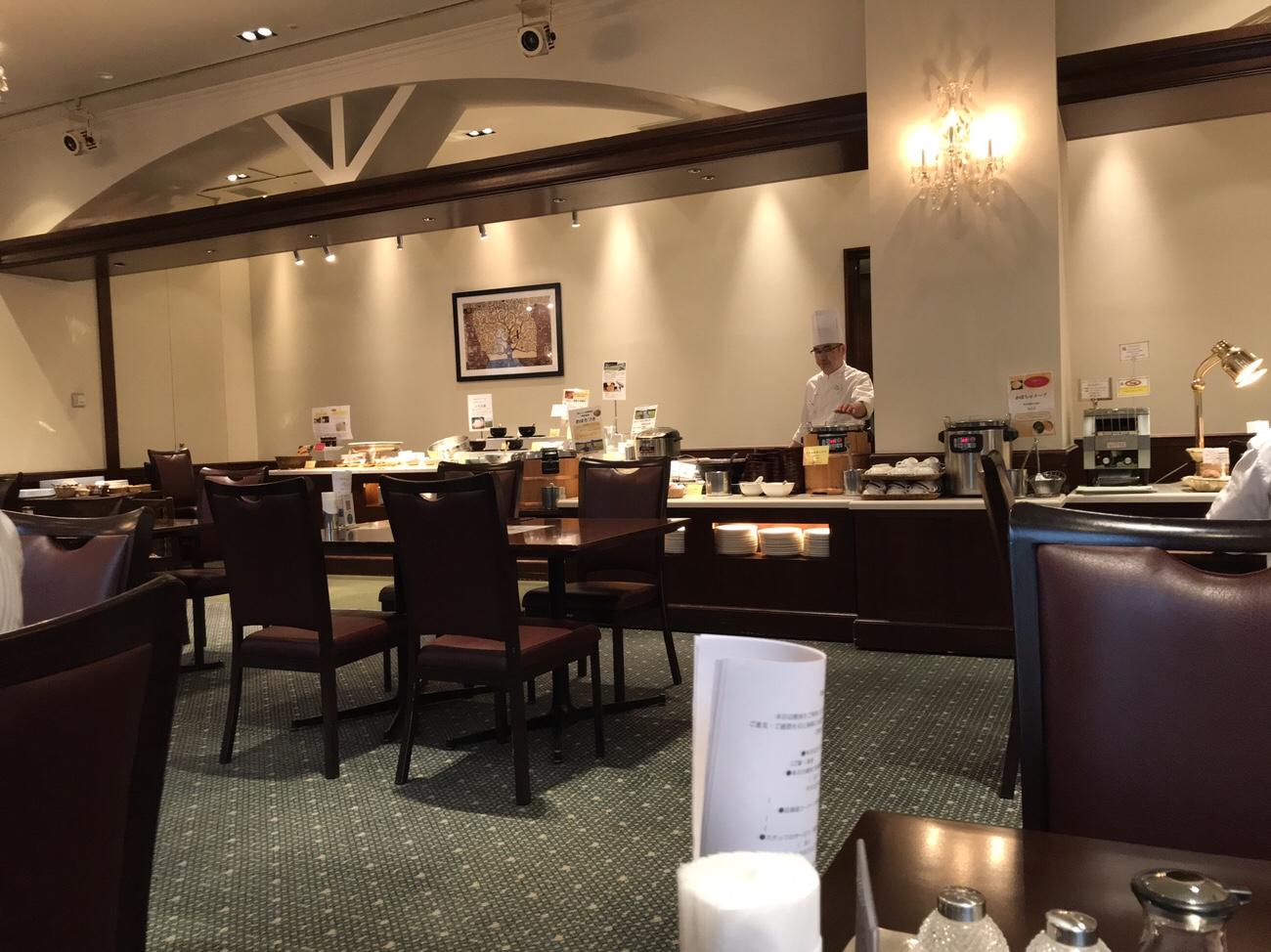 ホテルクラビーサッポロ 朝食会場