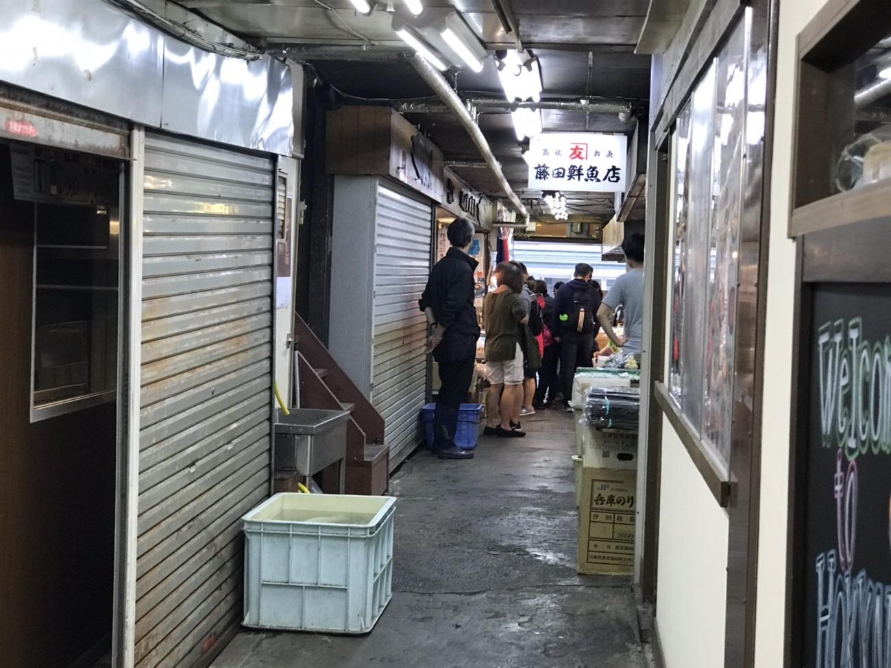 札幌観光 札幌グルメにおすすめの二条市場