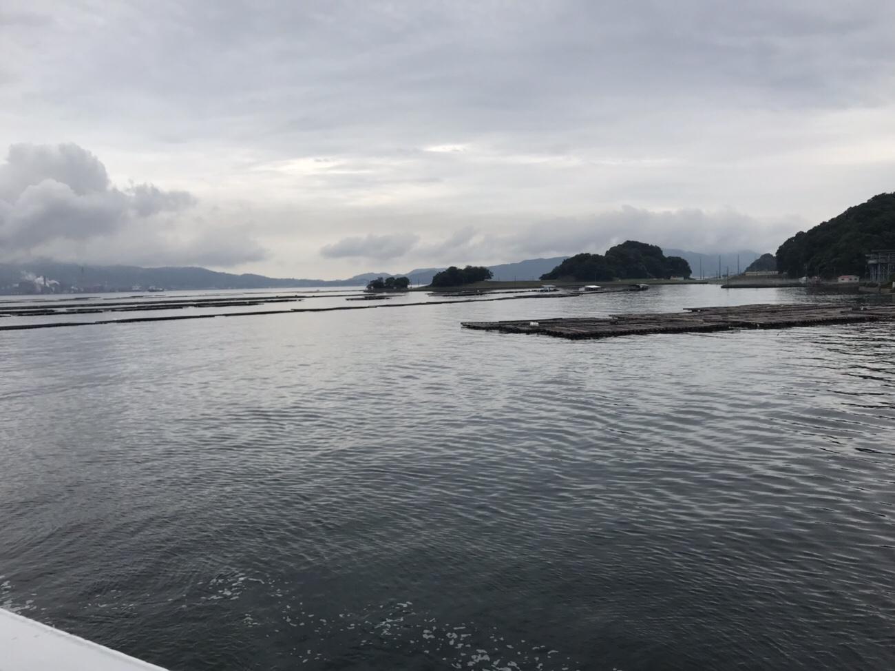 呉から江田島小用港へのフェリー