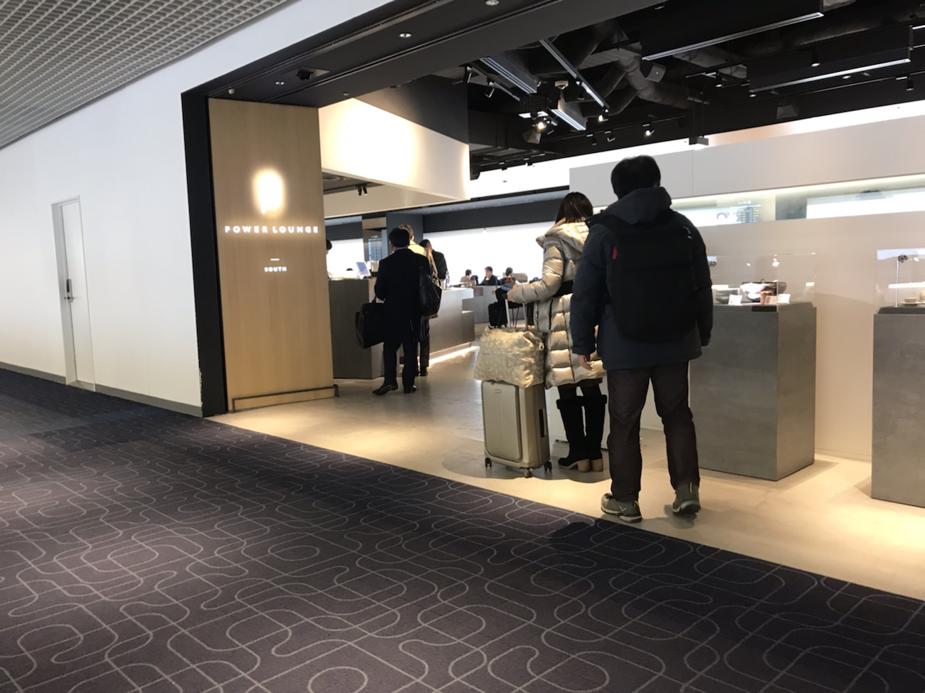 羽田空港ラウンジ ゴールドカード 第一ターミナル(JAL側)
