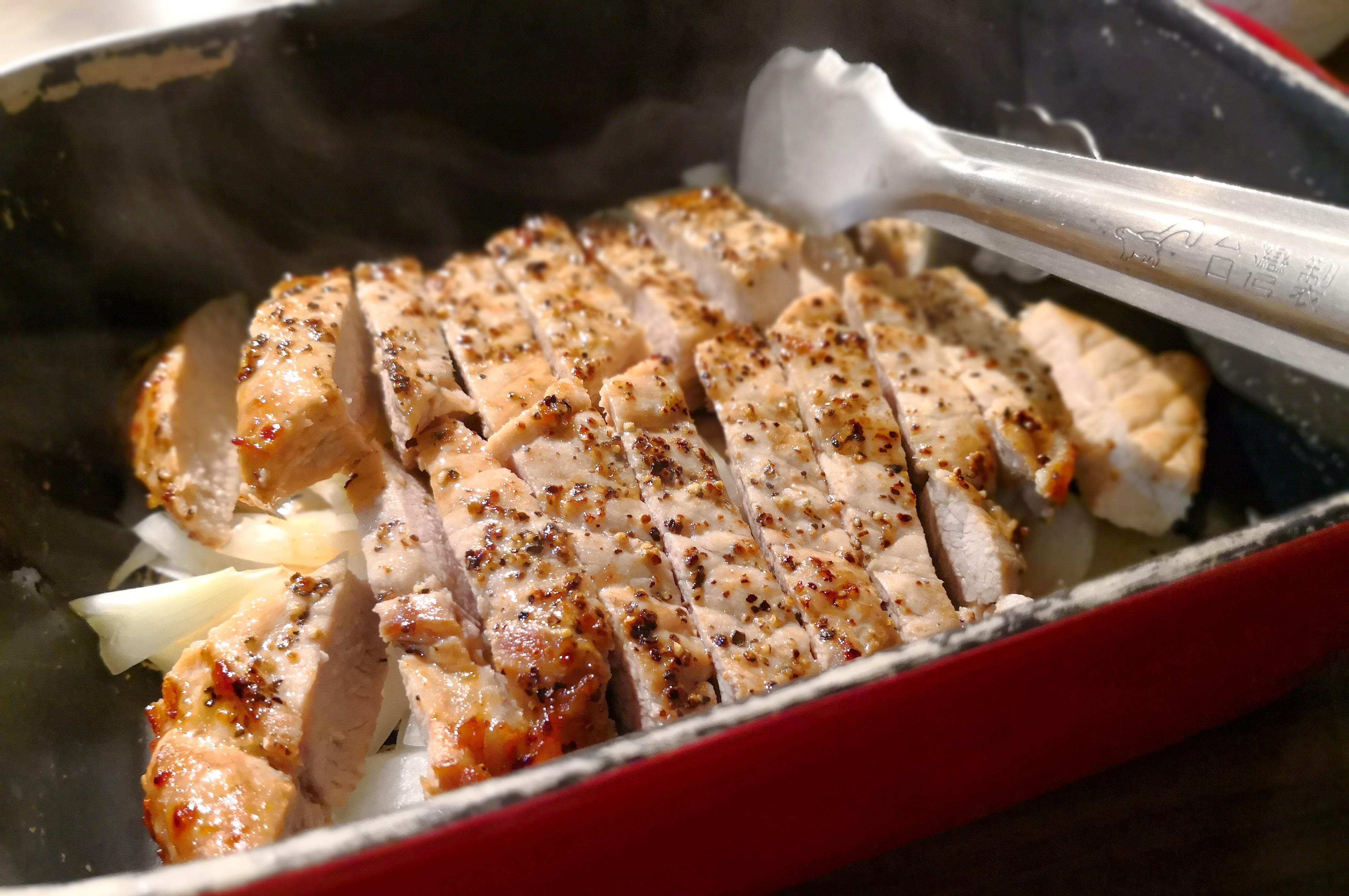 台湾グルメブログ 得の豚肉料理