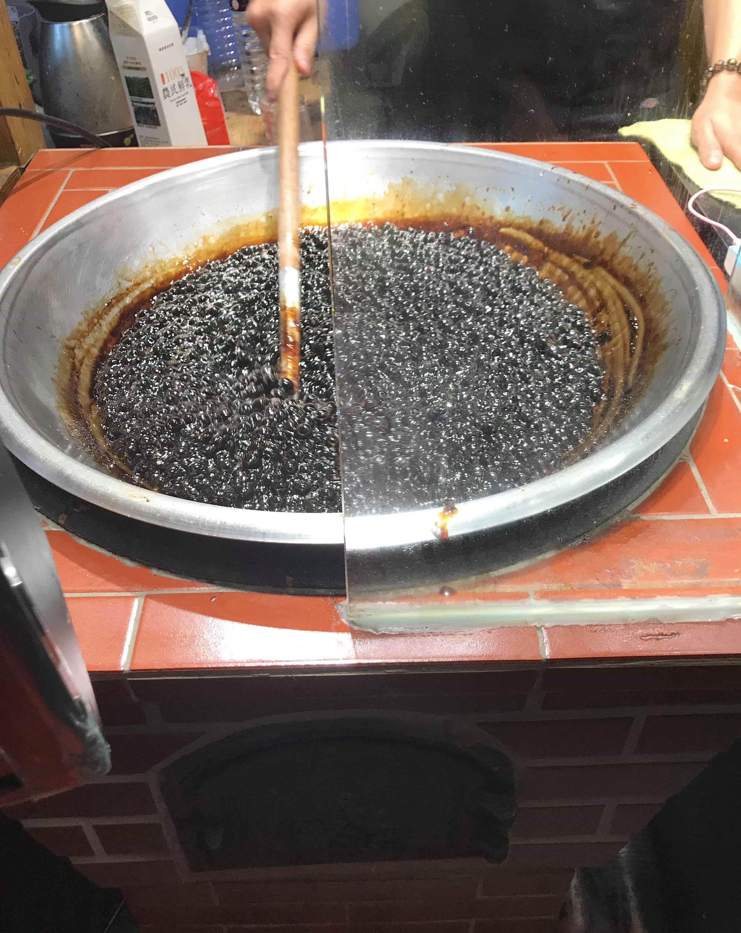 台湾 黒糖タピオカミルクティー 士林市場おすすめ 場所