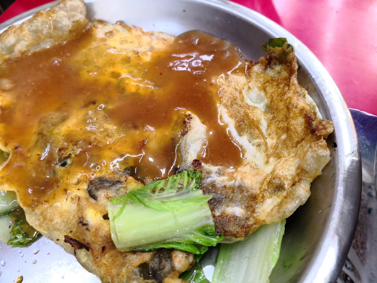 牡蠣オムレツ 士林市場 地下おすすめベスト3 台湾食べ歩き