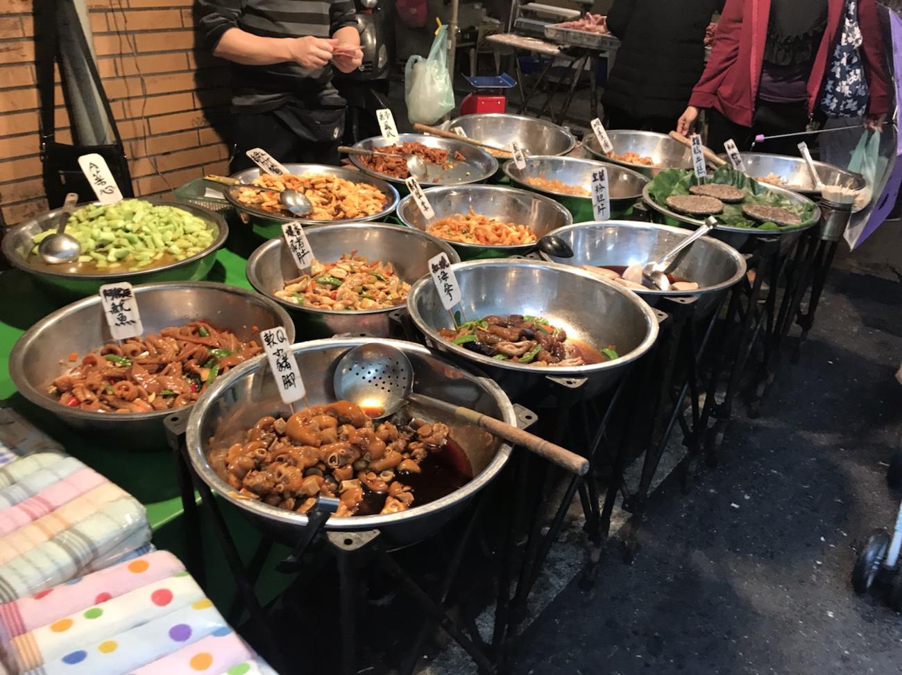 台湾グルメブログ食べ歩き 台北市場