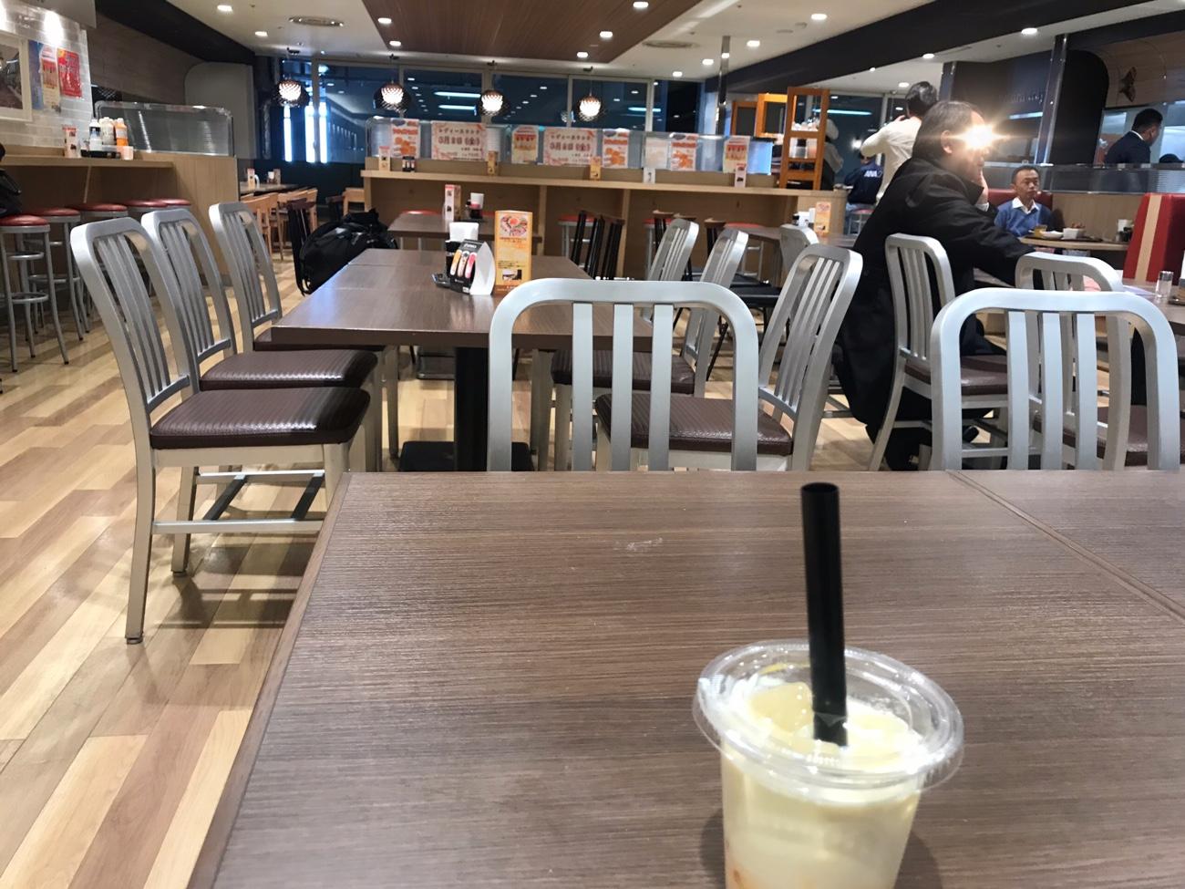 伊丹空港 社員食堂オアシス店内
