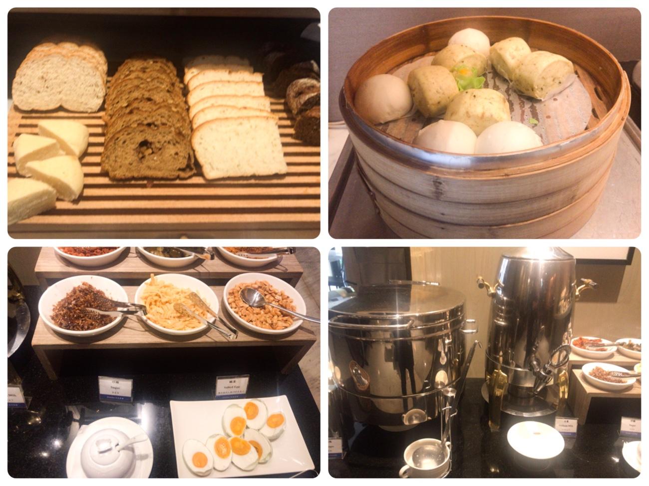 グランディ タイペイ ホテル(台北官邸飯店) 朝食ビュッフェ バイキング