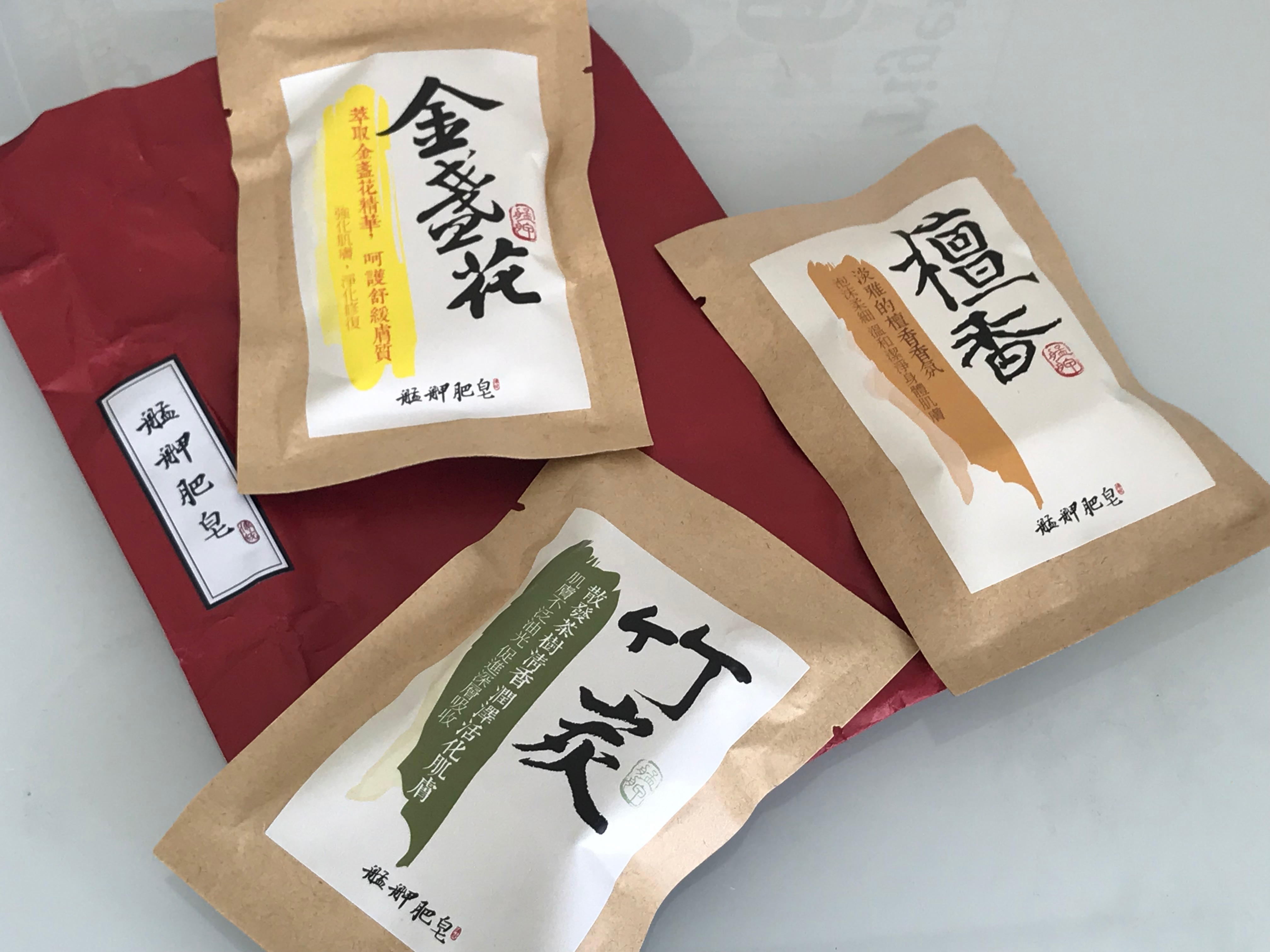 台北松山空港のお土産 石鹸