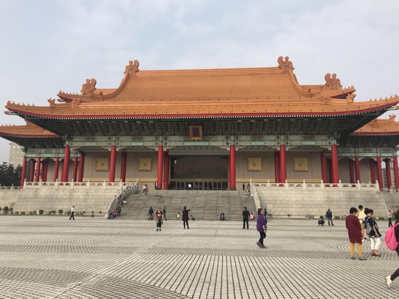 台北 中正記念堂の音楽堂
