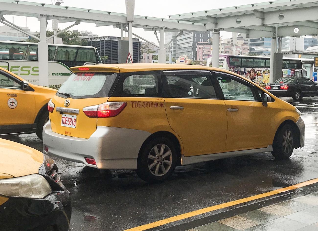 台湾タクシー利用した感想