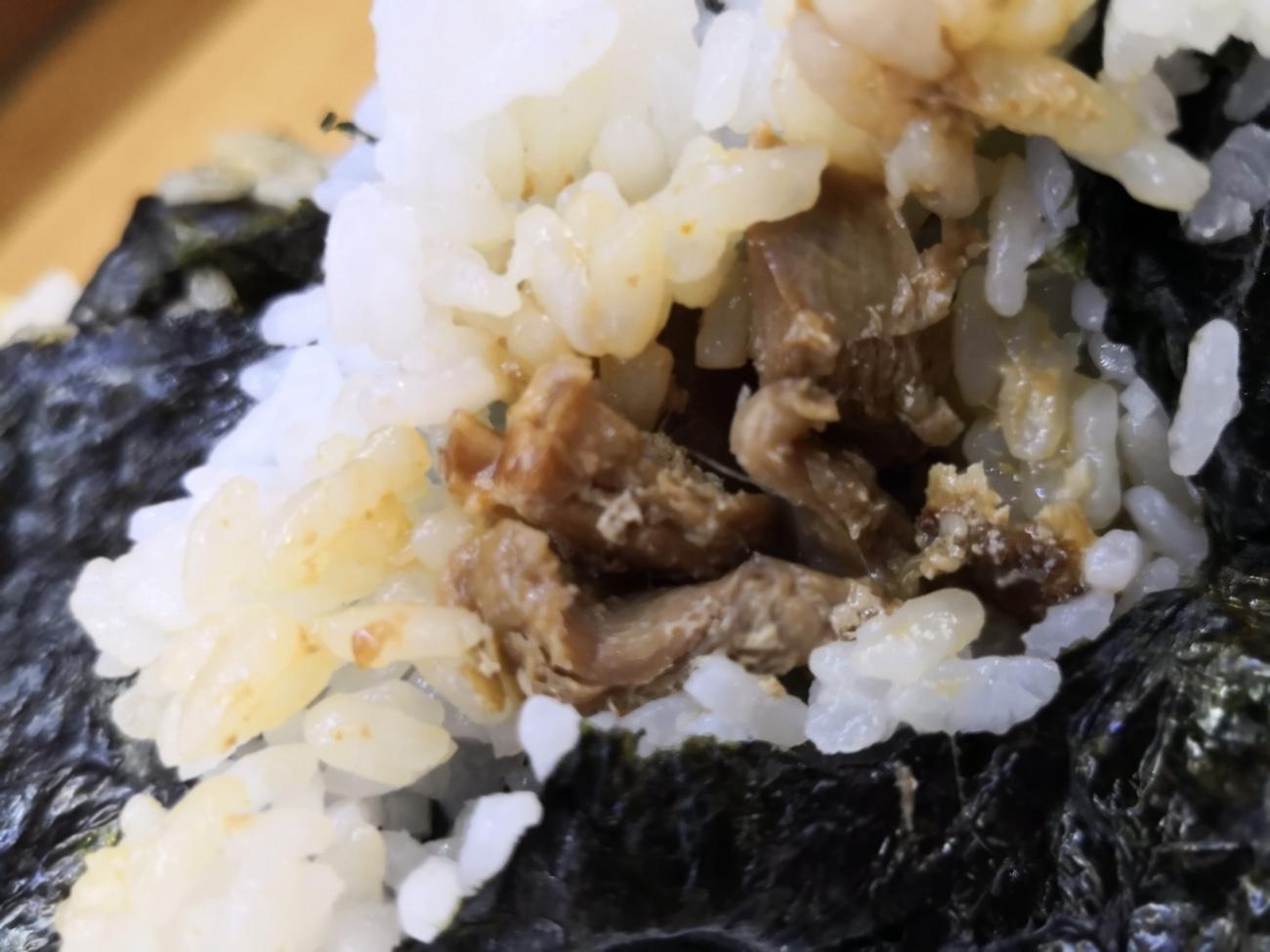 札幌24時間おにぎり 角煮味噌