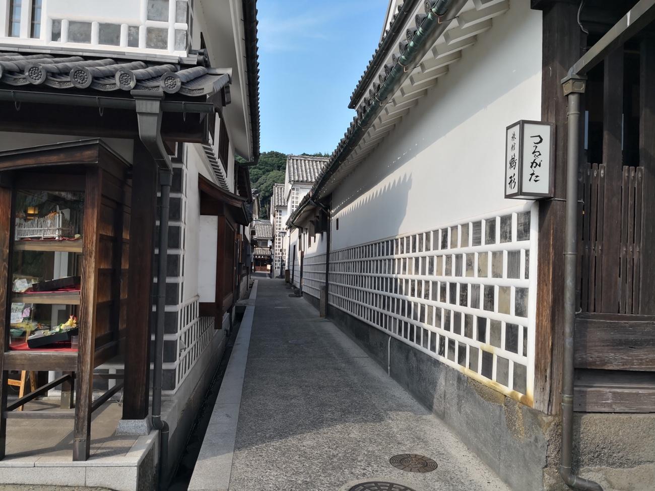 倉敷美観地区ガイド 歩き方 なまこ壁の場所