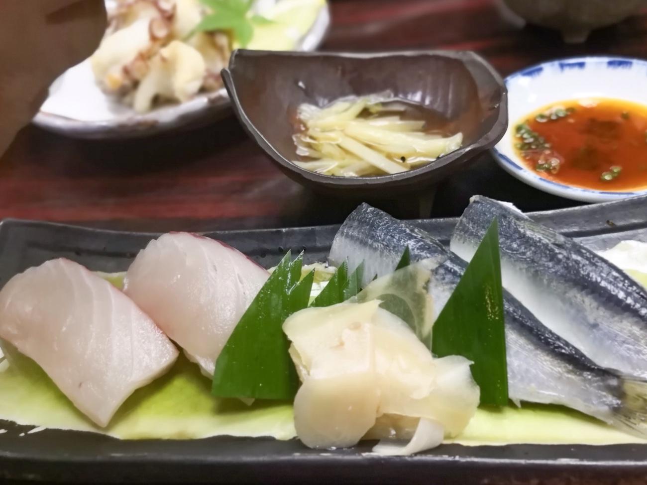 倉敷名物 ままかりとさわらの寿司