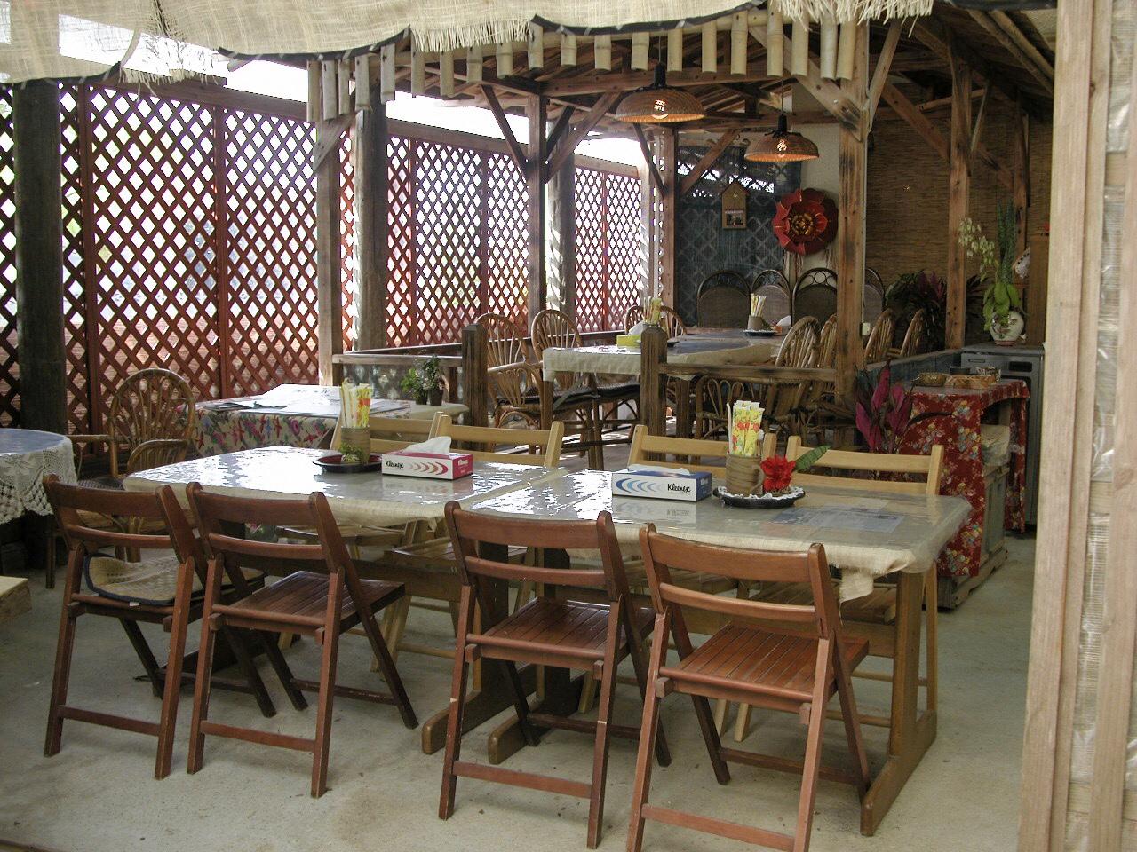 大宜味村でのランチにぴったりの雰囲気な笑味の店