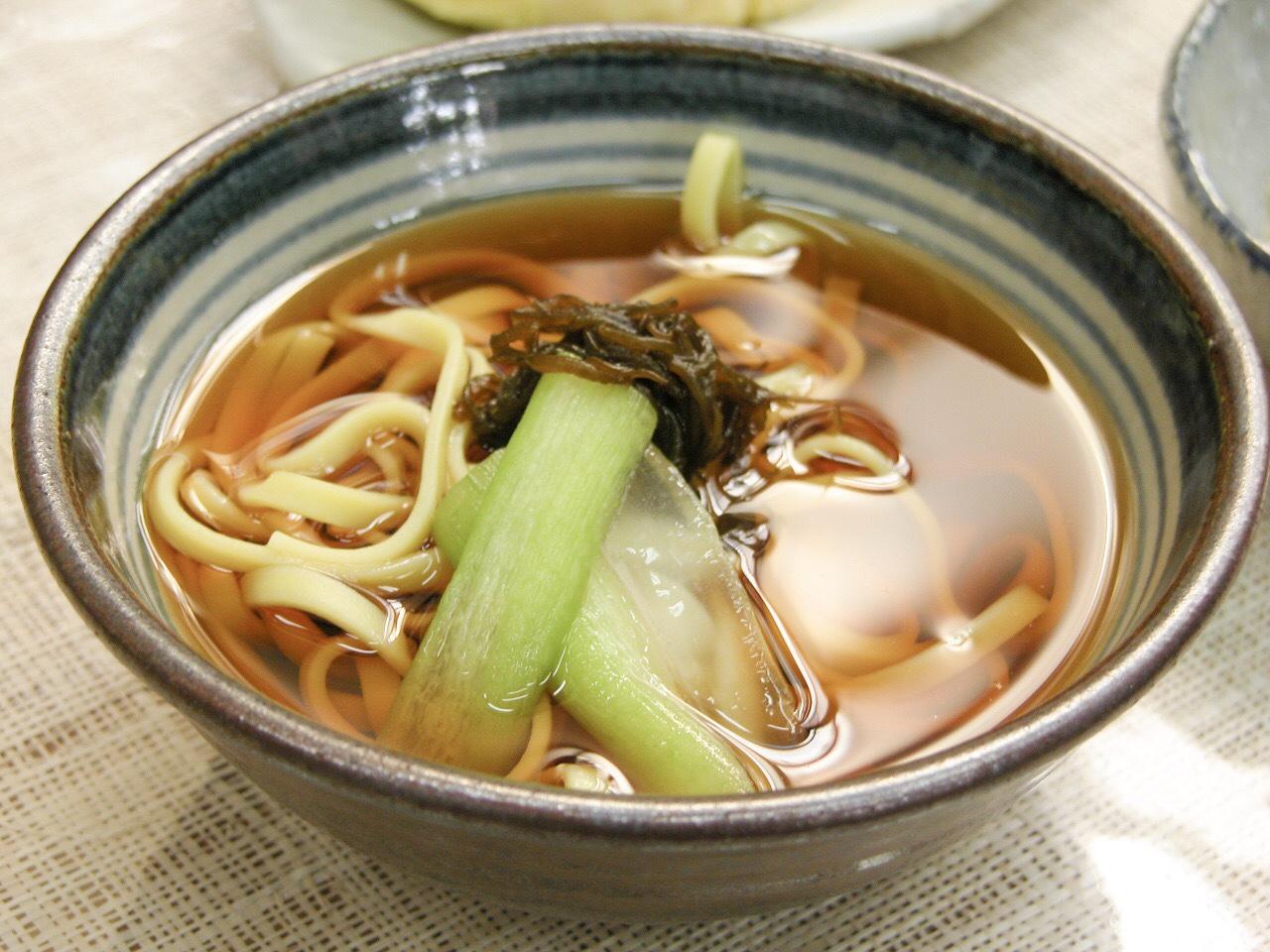笑味の店 シークヮサー麺 大宜味村ランチ