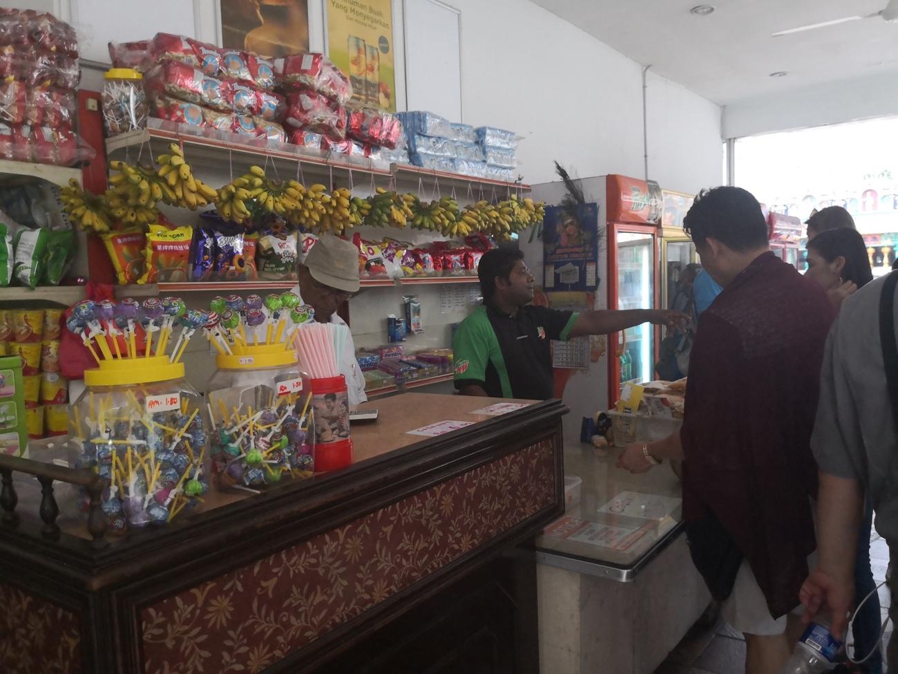 バトゥケイブ土産物屋 クアラルンプール